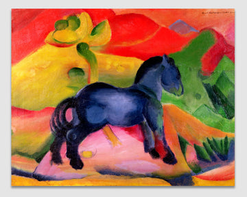 Little Blue Horse -  Franz Marc