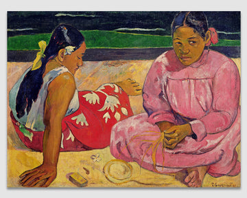 Tahitian Women on the Beach - Paul Gauguin