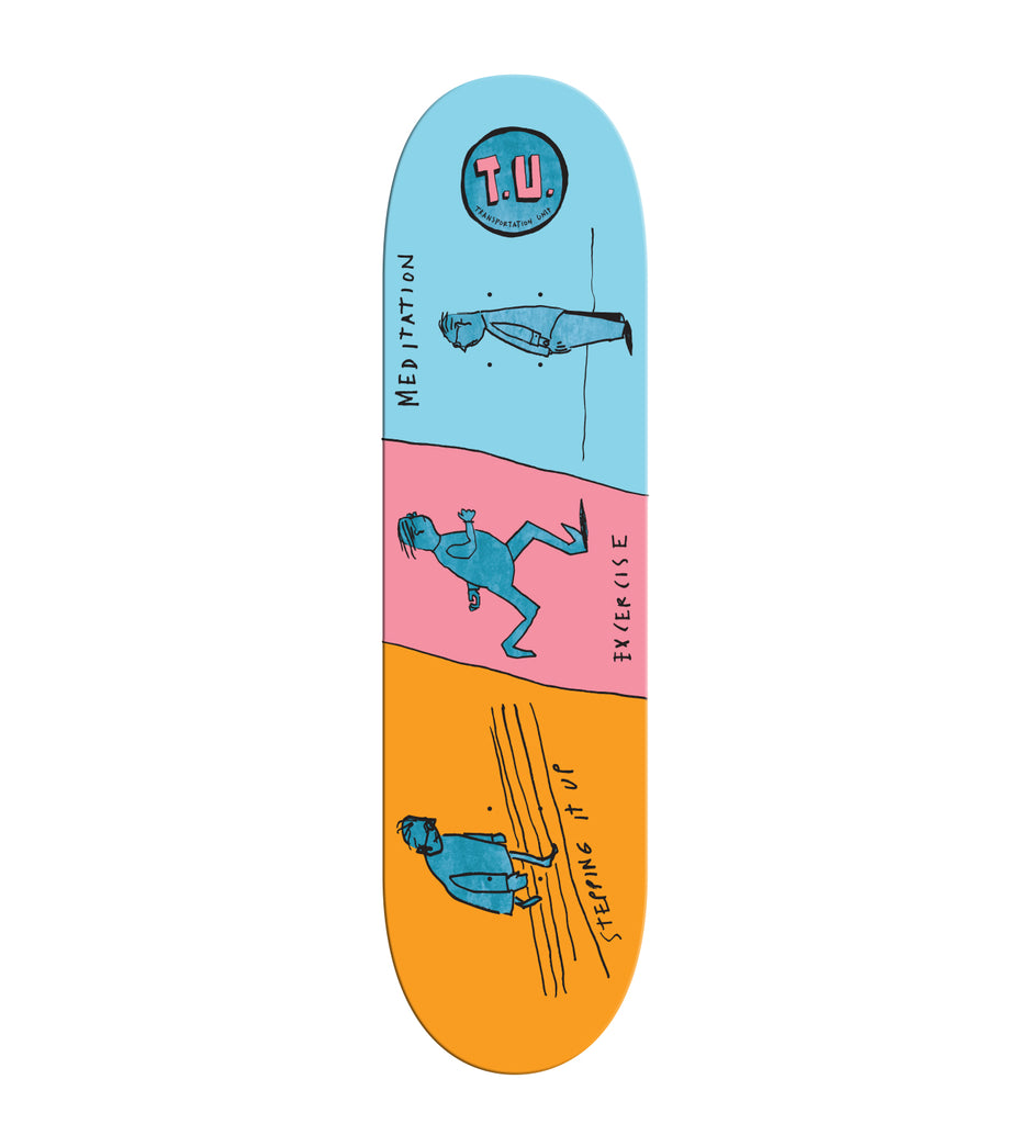 SOLD OUT- 3 Step Program Deck