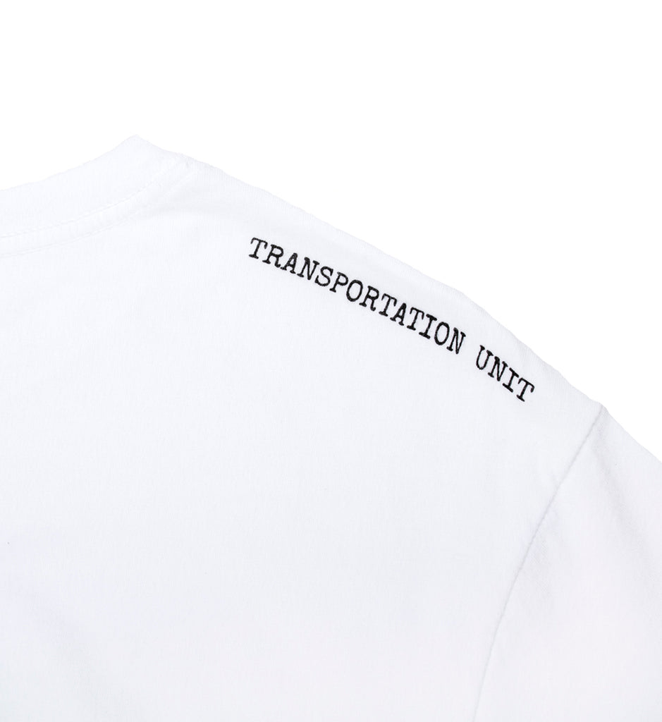 Transportation Unit - Drinky Tee - White