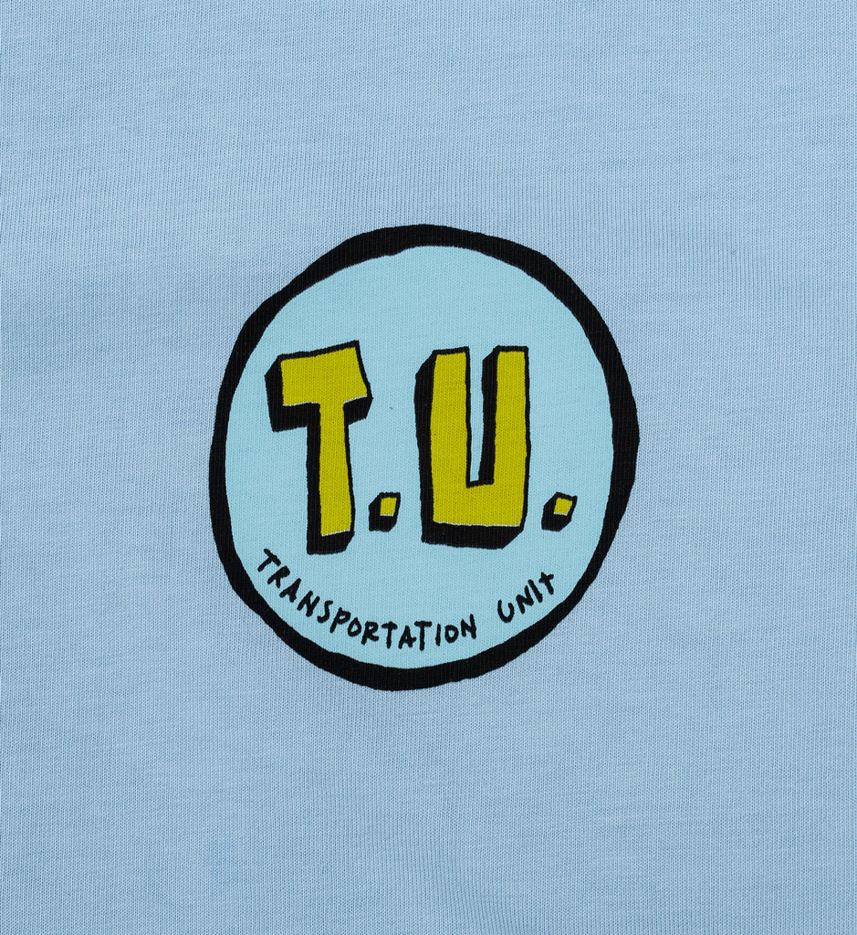 Transportation Unit - Life Coach Tee - Baby Blue
