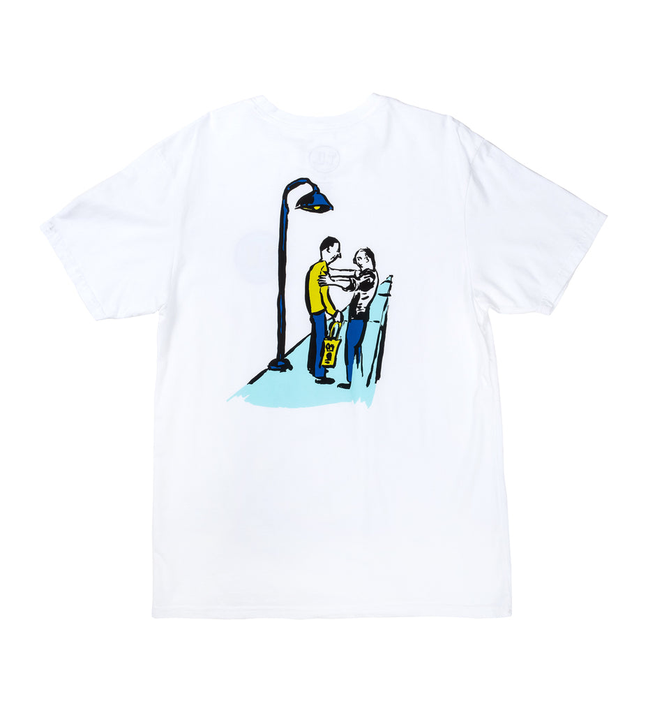 Transportation Unit - Life Coach Tee - White