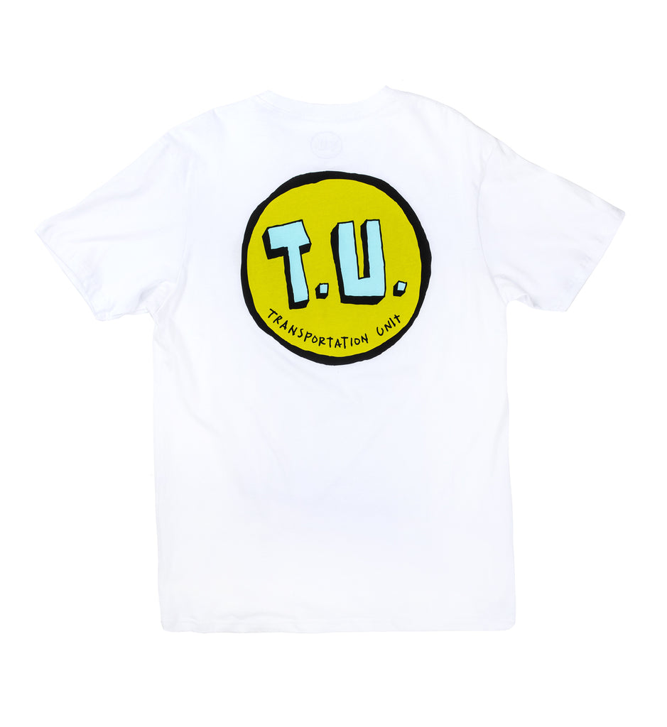 Transportation Unit - Classic T.U. Tee - White