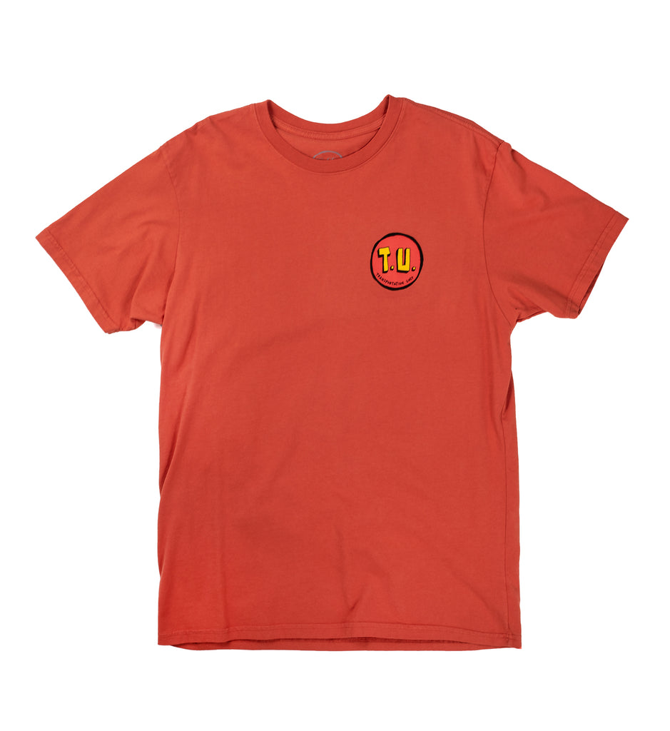 Transportation Unit - Party Bois Tee - Washed Red