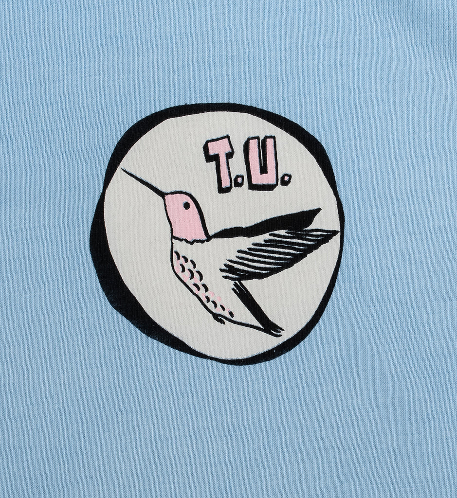 Transportation Unit - Humming Bird T.U. Tee - Baby Blue