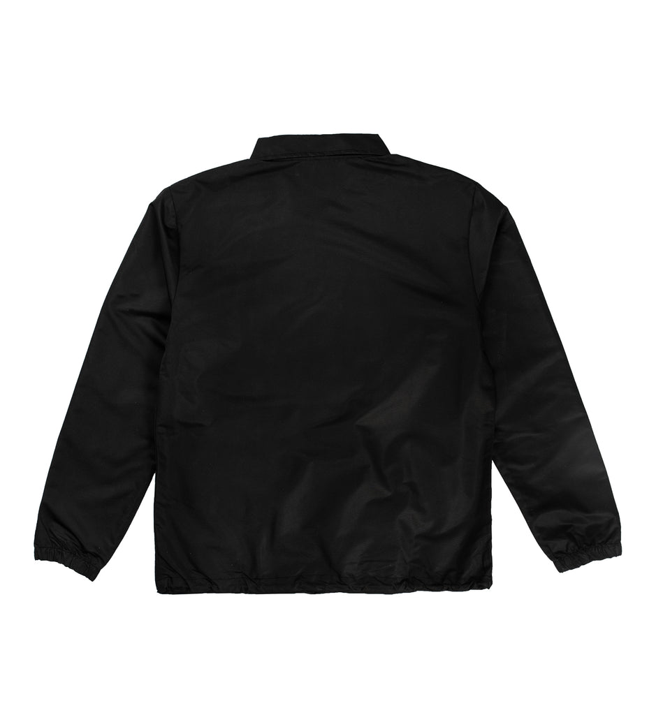 Transportation Unit - Classic T.U. Logo Coaches Jacket - Black