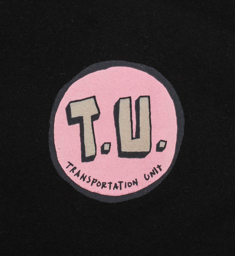 Transportation Unit - Classic T.U. Tee - Black