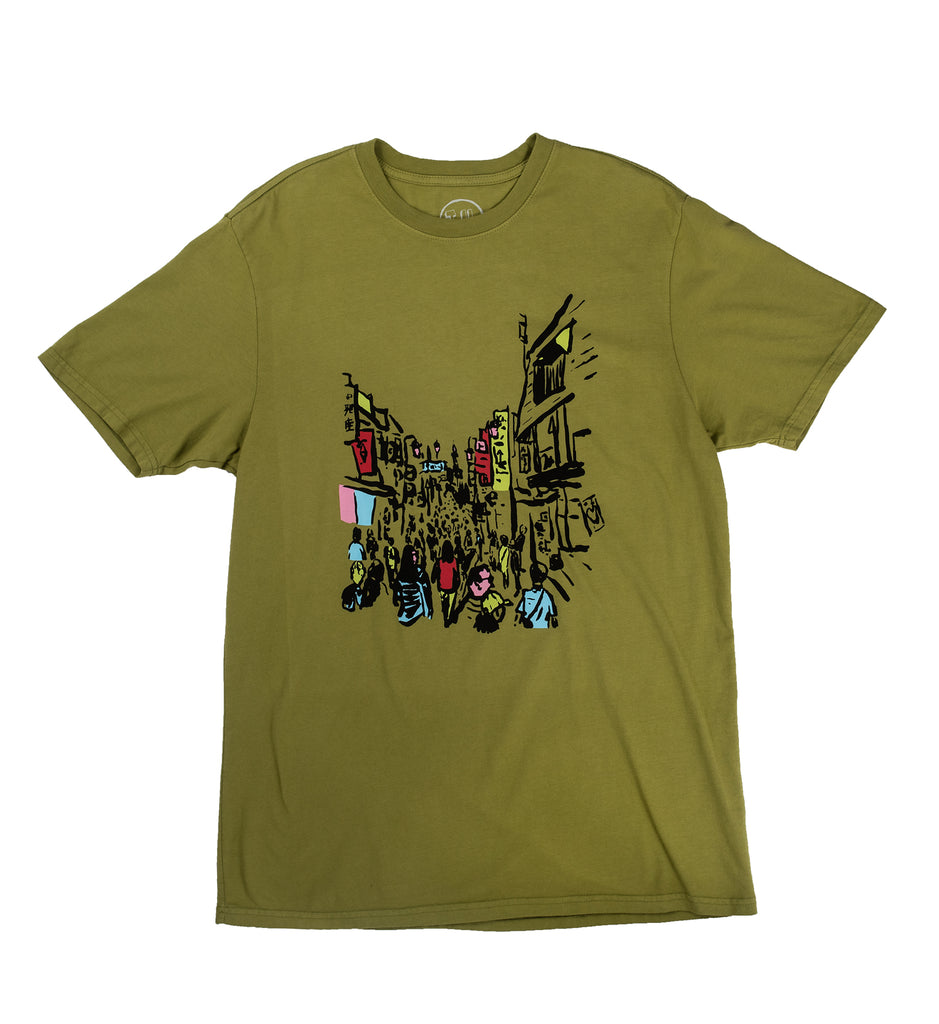 Transportation Unit - Japan Tee - Moss