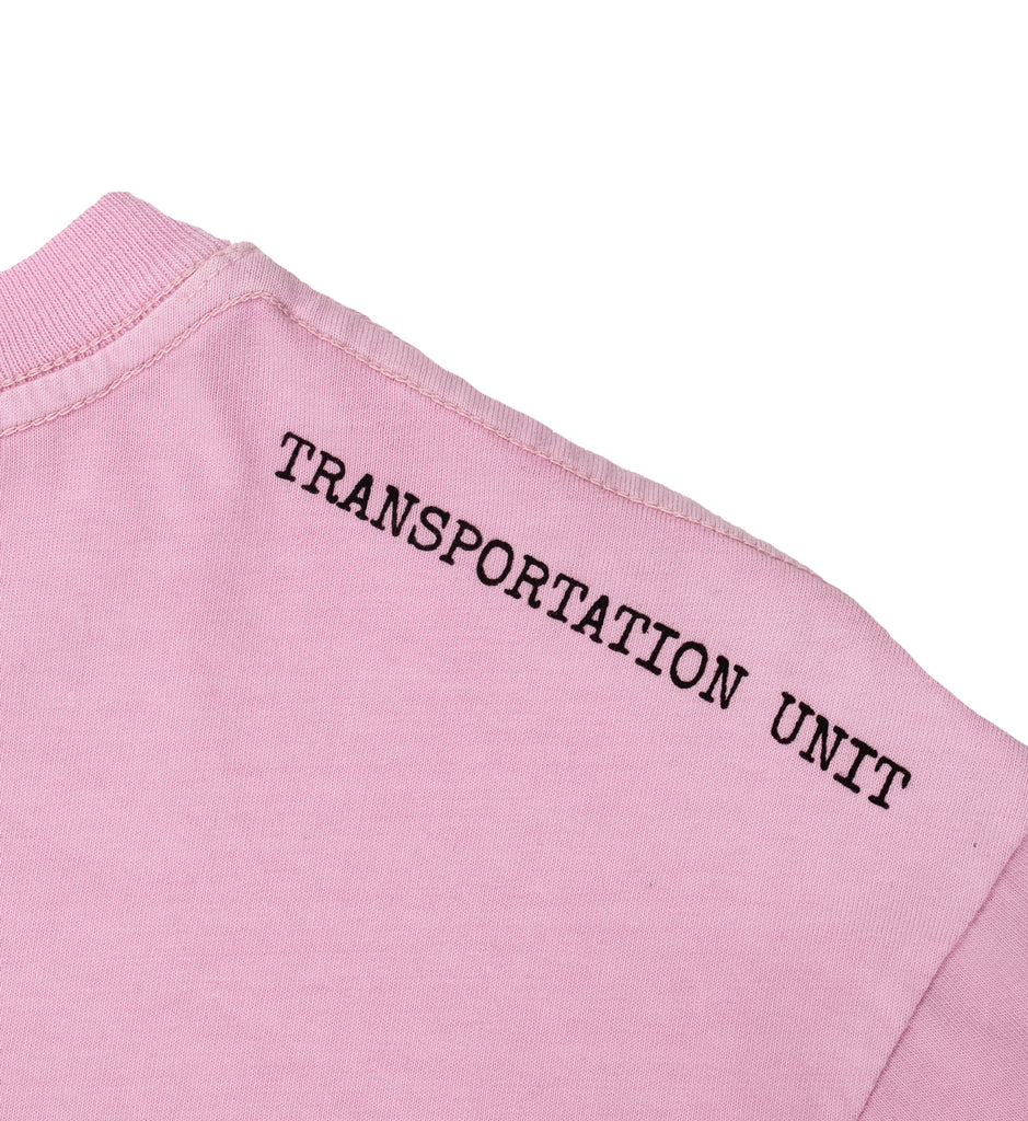 Transportation Unit - Drinky Tee - Pink