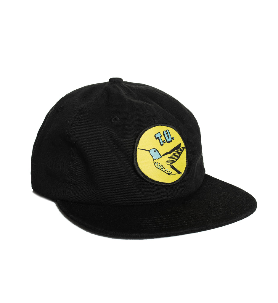Transportation Unit - Humming Bird T.U. 6-Panel Hat - Black