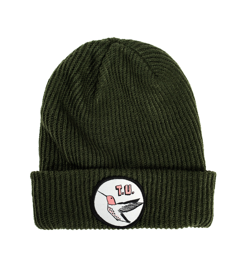 Transportation Unit - Humming Bird T.U. Beanie - Olive