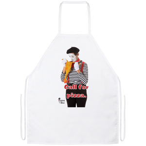 """Call for Pizza"" Cook's Apron"