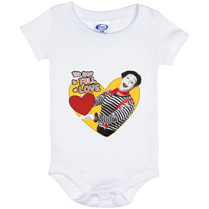 """This Diaper is full of LOVE"" 6 Mo Baby Onesie"