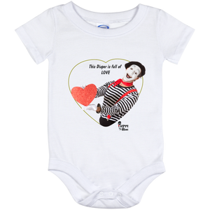 """This Diaper is full of LOVE"" Baby Onesie 12 Month"