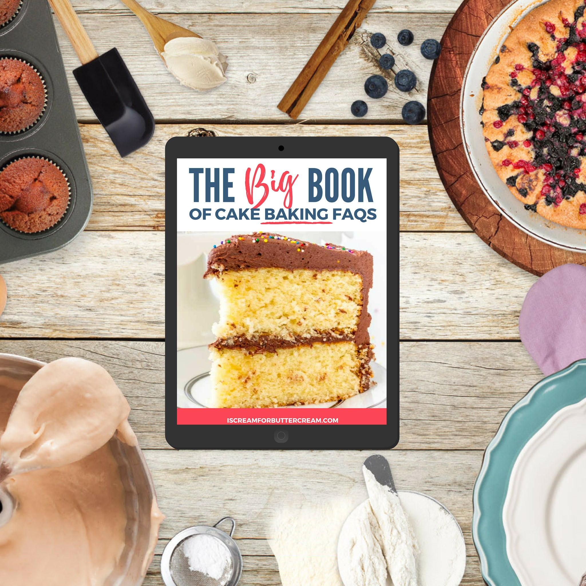 The BIG Book of Cake Baking FAQs E-book