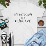 My patronus is a cupcake Shopify T-shirt mockup