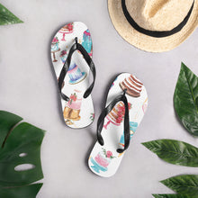 Load image into Gallery viewer, Decorated Cakes Flip-Flops