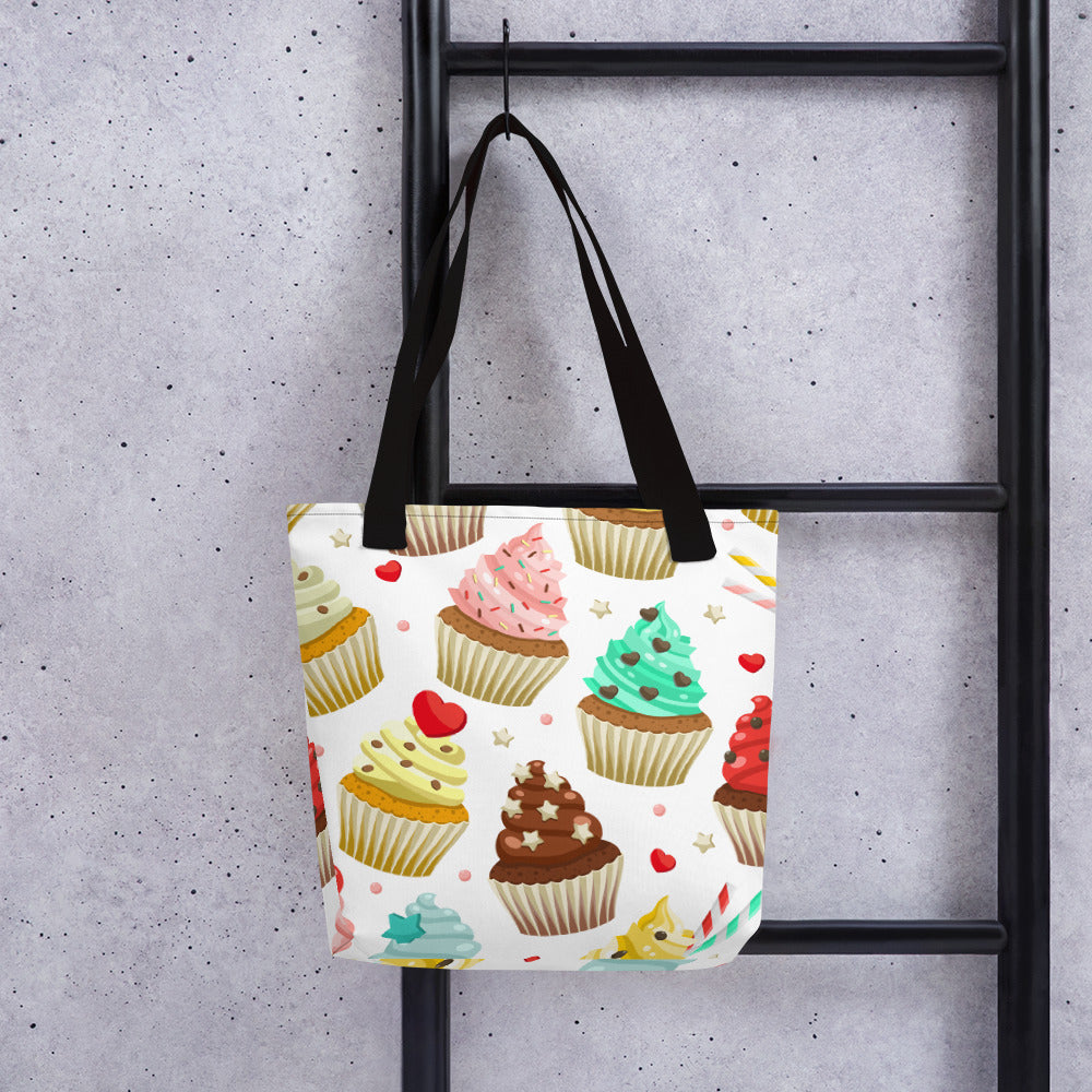 Colorful Cupcakes Tote bag
