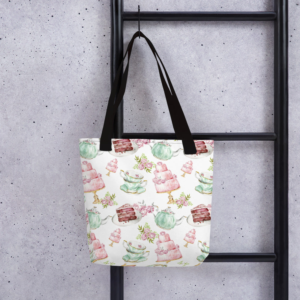 Tea and Cake Tote bag