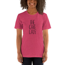 Load image into Gallery viewer, The Cake Lady - Short-Sleeve Unisex T-Shirt