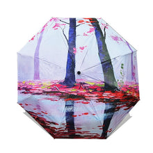 Load image into Gallery viewer, chinese art umbrella