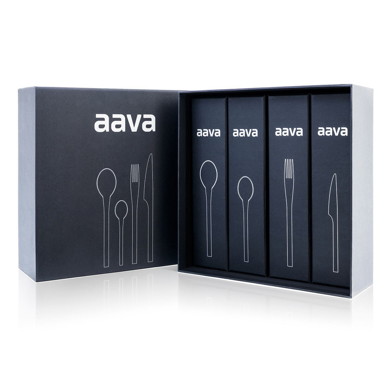 Aava 24-Piece Flatware Set