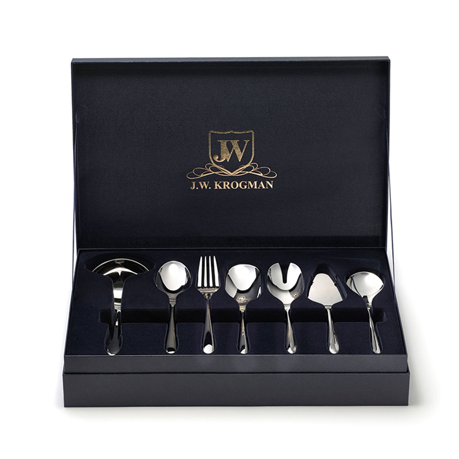 J.W Krogman Trollope 7-Piece Serving Set