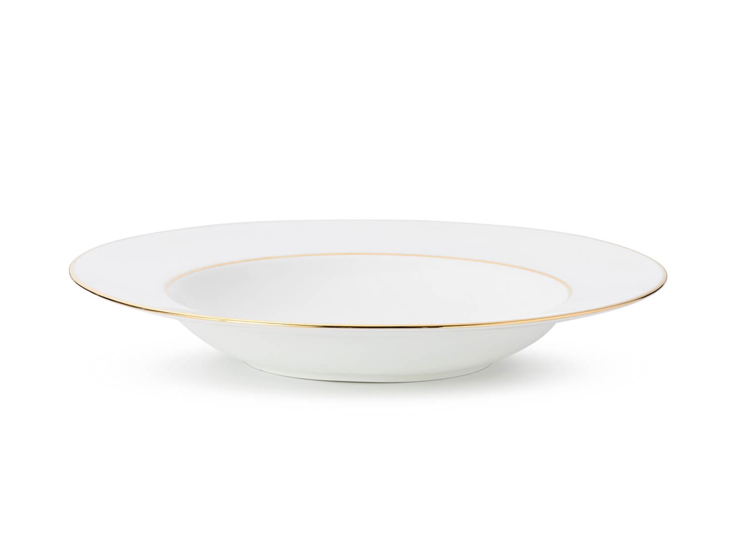 J.W Krogman The Allingham Gold Tableware Collection – Set Of 6 Soup Plates In Fine Bone China