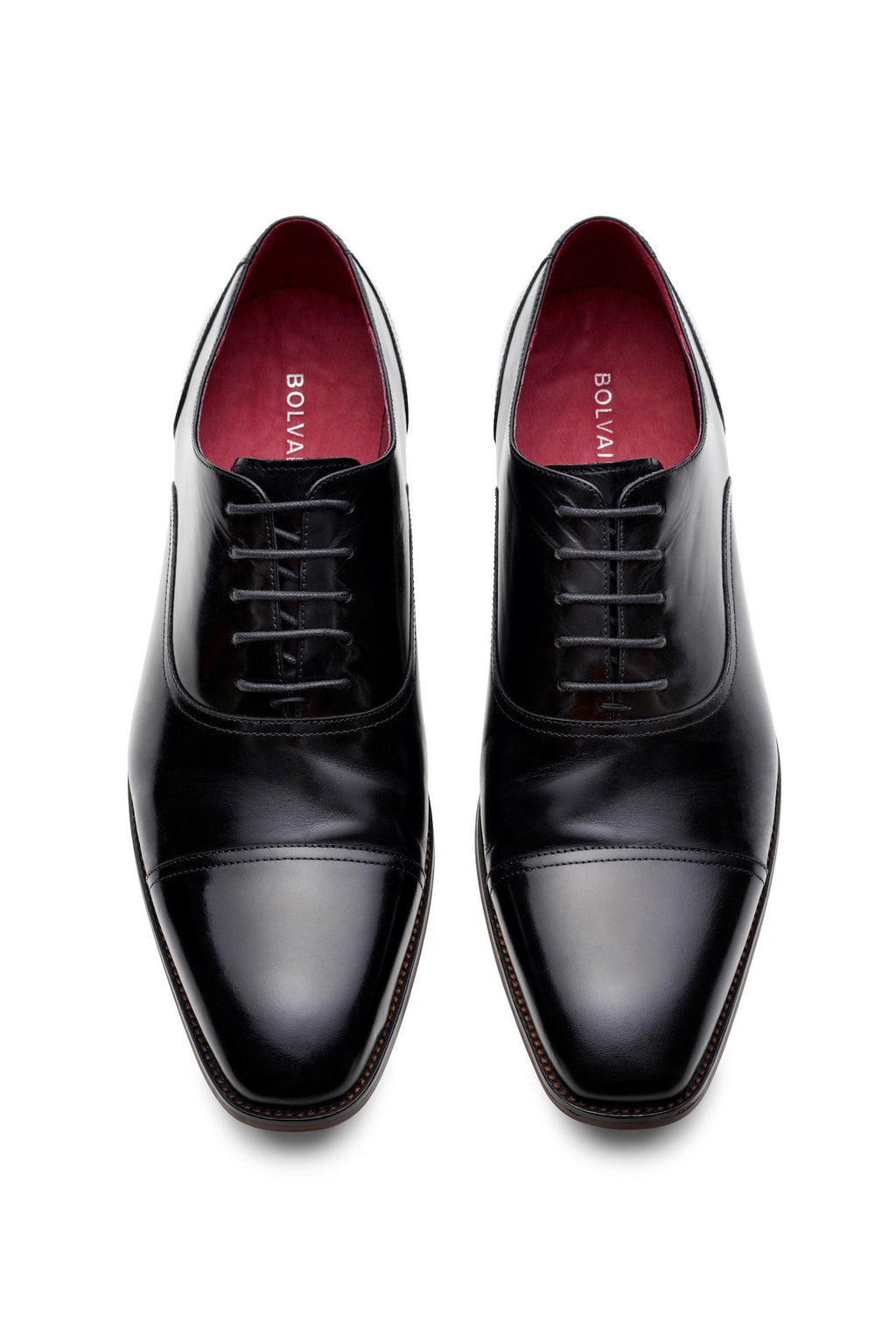 Bolvaint The Verrocchio Dress Shoe in Black Calfskin