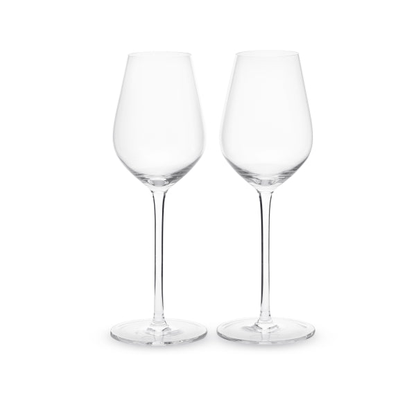 Joshua Steinberg Crystal Sommelier White Wine Glass, Pair