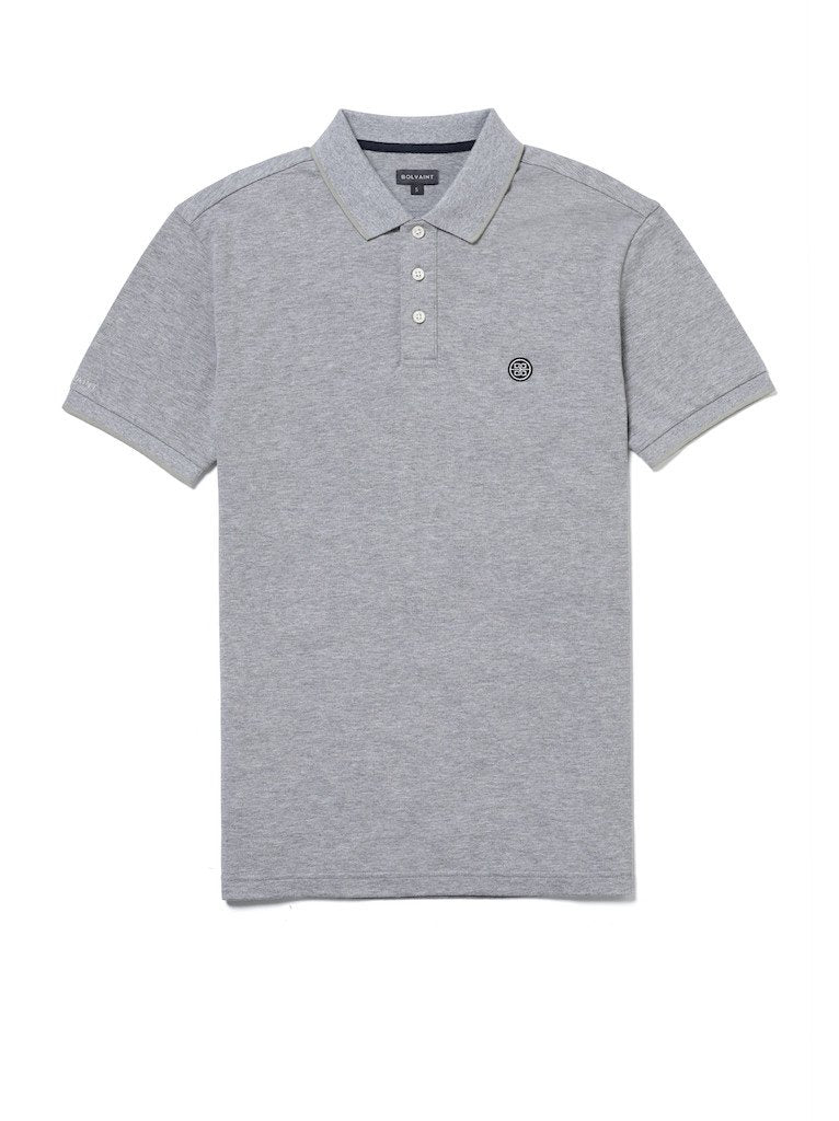 Bolvaint Abreu Polo Shirt in Ocean Grey
