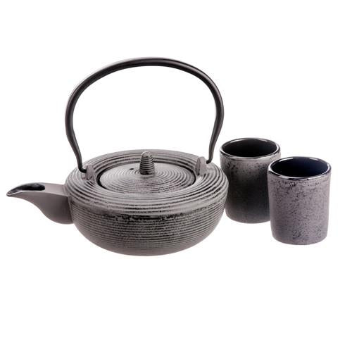 Gaia Collection Batch #45, Cast Iron Tea Set