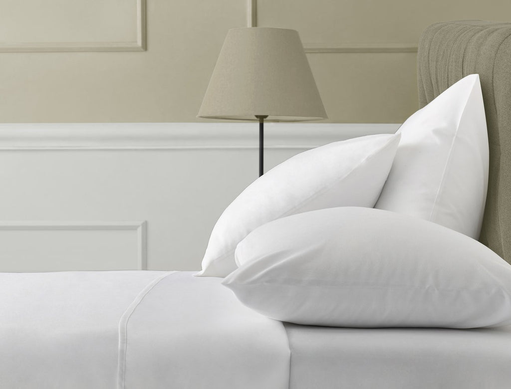 Isselle Beaufort Sheet Set - Queen White Ivory