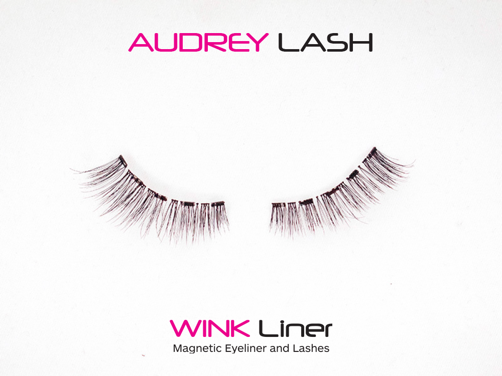 Audrey Lash - natural, volume, length, natural wing, cat eye