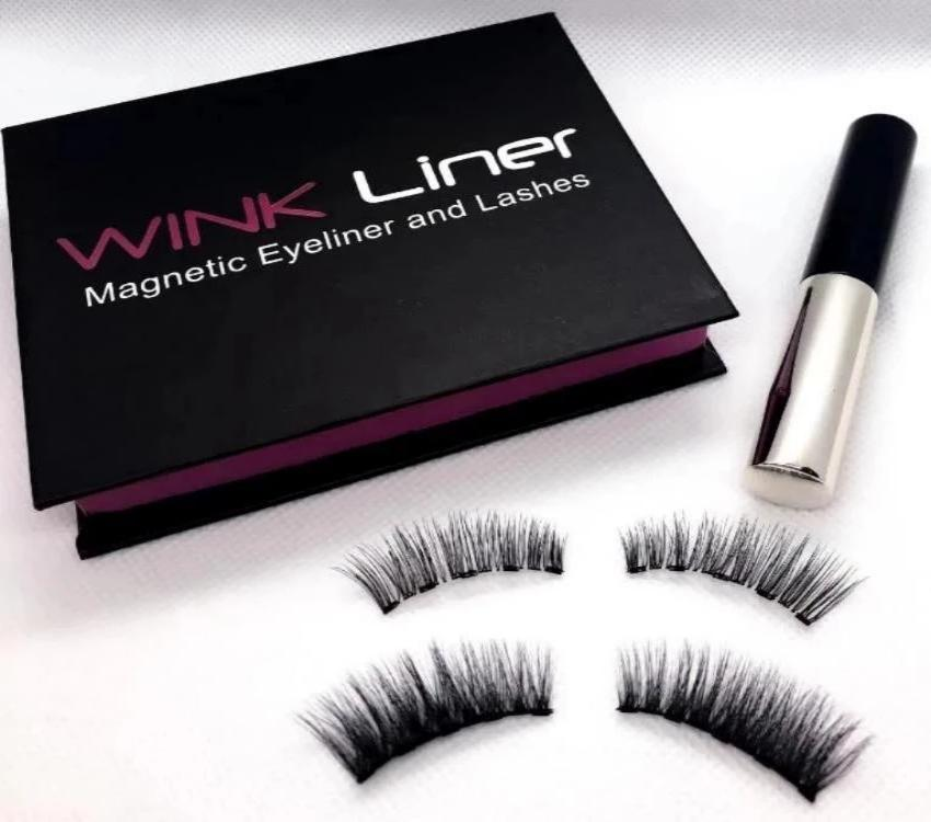 Wink's Double lash kit. Two styles, the Audrey for a more natural look and the Marilyn for extra volume and glam.