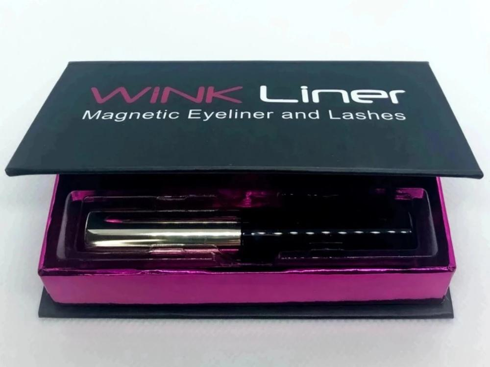 Magnetic eyeliner - No glue, no mess, easy to use. Latex free and no harsh chemicals.