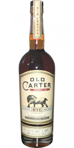 Old Carter Barrel Strength Rye