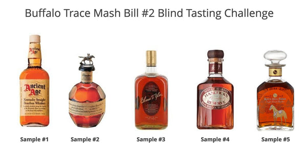 Buffalo Trace Mash Bill #2 Samples