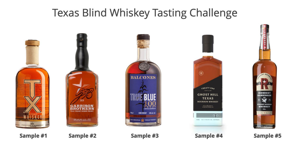 Texas Whiskey Results