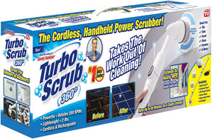 Turbo Scrub 360 - Cordless & Rechargeable