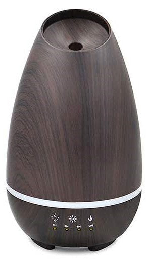 VIO LIFESTYLES Ultrasonic Cool Mist Diffuser - Brown, White