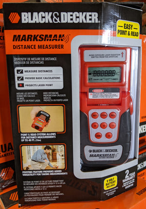 Black & Decker BDSM100 Marksman Sonic Distance Measurer