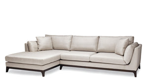 Palm Fabric Sectional Sofa
