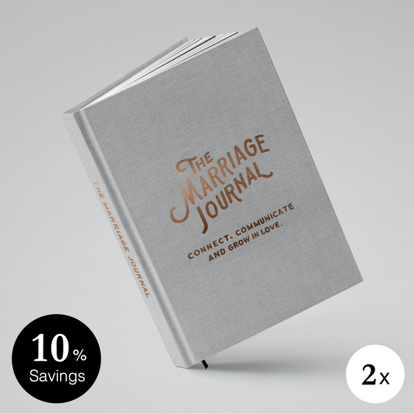 The Marriage Journal - 2-Pack (10% Off)