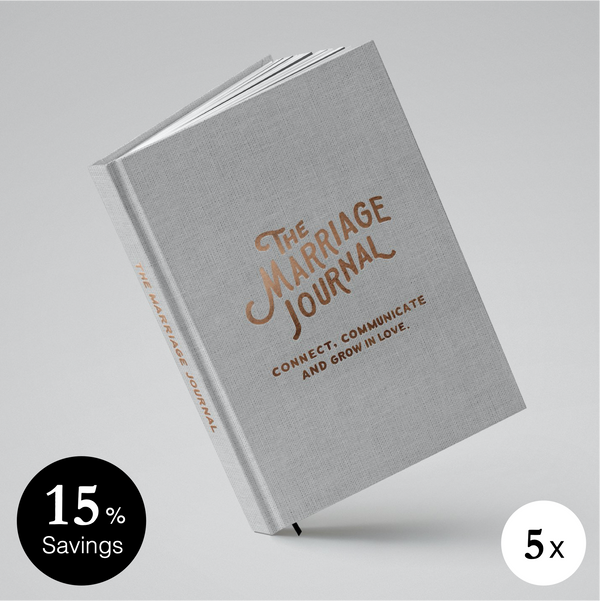 The Marriage Journal - 5-Pack (15% Off)