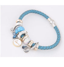 Leather Bracelet_ 07lp / 4 Color Available, Just Click to View