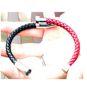 Leather Charm Bracelet_02ln / 2 Colors Available, Just Click to View