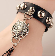 Leather Finger Bracelet