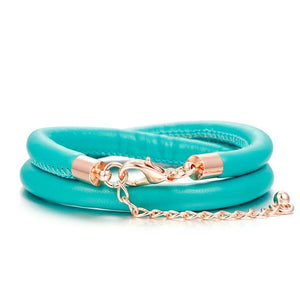 Leather Charm Bracelets_02ln / Another 09 Colors Available, Jut Click to View