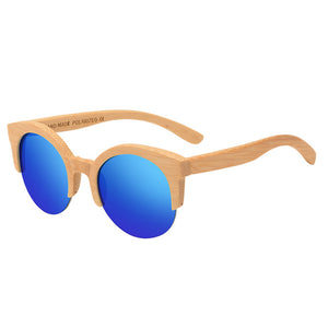 Charming Semi-Rimless Sunglasses